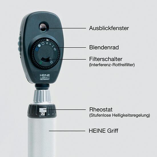 Früherkennung mit Heine Beta 200