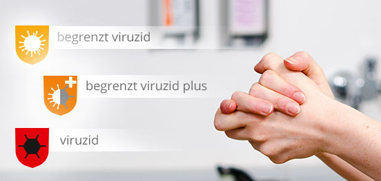 Wirksamkeitsstufen Händedesinfektion
