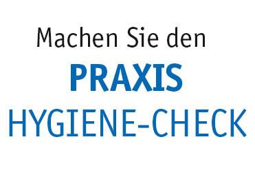 Schwerpunkt Praxis Hygiene-Check