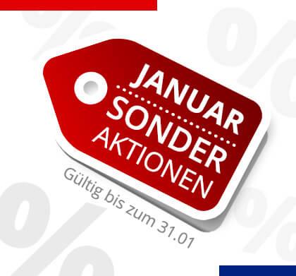 Sonder Aktionen bis Januar 2017