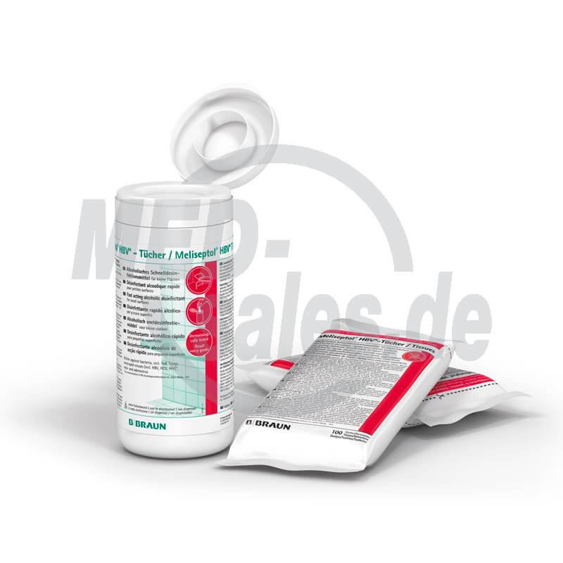 B.BRAUN Meliseptol® HBV-Tücher